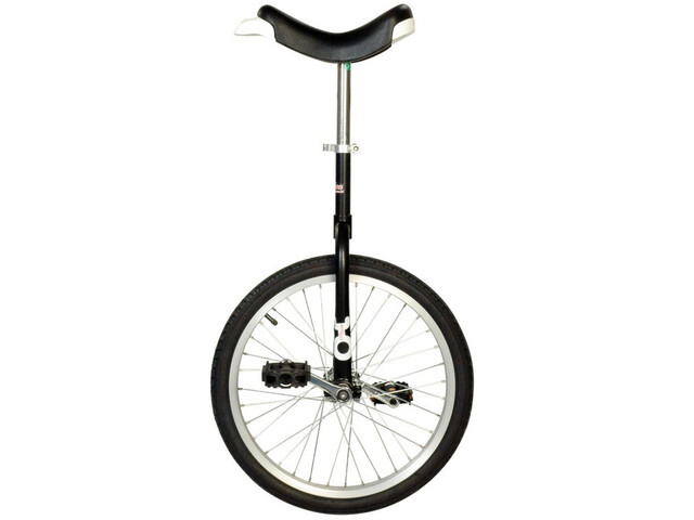 QU-AX Only One Ethjulet cykel, black